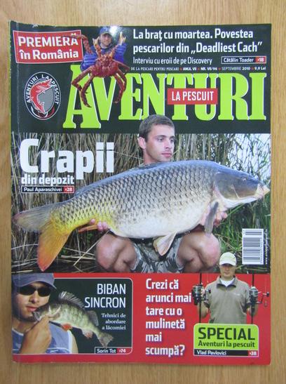 Anticariat: Aventuri la pescuit, anul VII, nr. 96, septembrie 2010