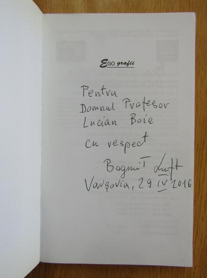 Anticariat: Bogumil Luft - Romanii in goana dupa happy-end (cu autograful autorului)
