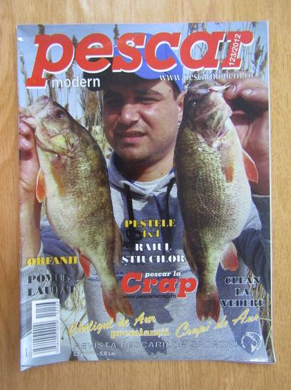 Anticariat: Revista Pescar modern, nr. 123, 2012
