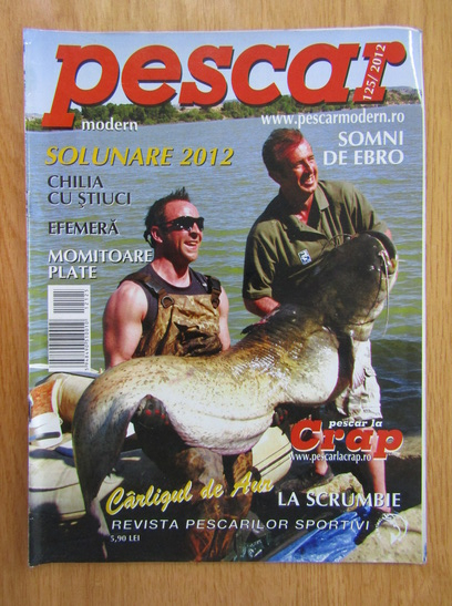 Anticariat: Revista Pescar modern, nr. 125, 2012