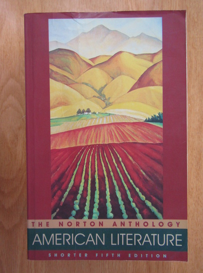 Anticariat: Nina Baym - The Norton Anthology American Literature