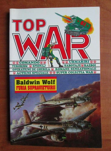 Anticariat: Baldwin Wolf - Furia supravietuirii