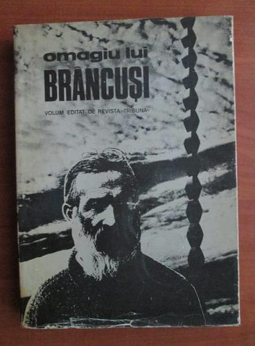 Anticariat: Omagiu lui Brancusi
