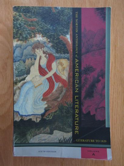Anticariat: Nina Baym - The Norton Anthology of American Literature