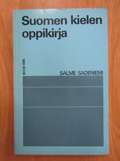 Anticariat: Salme Sadeniemi - Suomen kielen oppikirja