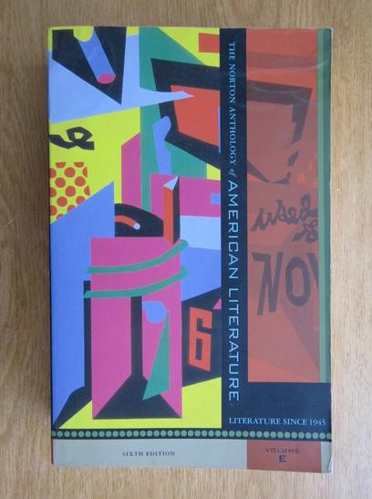 Anticariat: Nina Baym - The Norton Anthology American Literature (volumul 5)