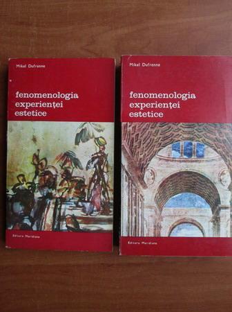 Anticariat: Mikel Dufrenne - Fenomenologia experientei estetice (2 volume)