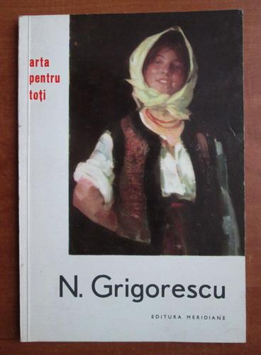 Anticariat: Mircea Popescu - N. Grigorescu