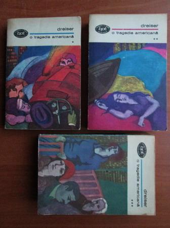 Anticariat: Theodore Dreiser - O tragedie americana (3 volume)