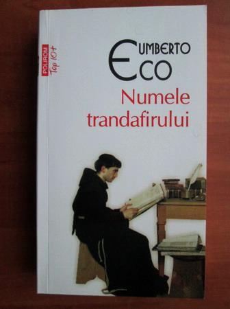 Anticariat: Umberto Eco - Numele trandafirului (Top 10+)