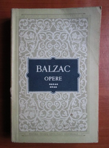 Anticariat: Balzac - Opere (volumul 9)