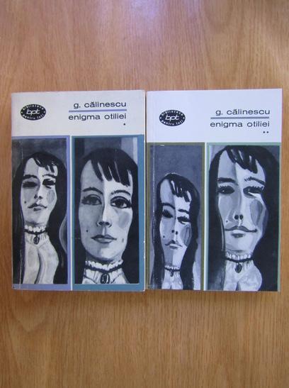 Anticariat: George Calinescu - Enigma Otiliei (2 volume)
