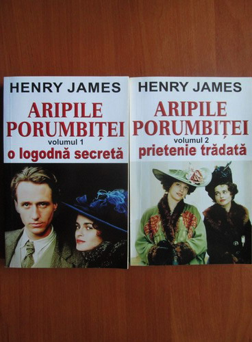 Anticariat: Henry James - Aripile porumbitei (2 volume)