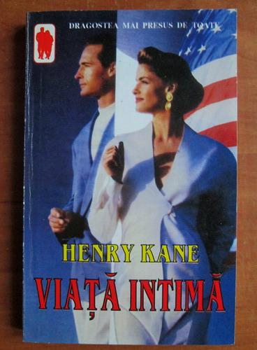 Anticariat: Henry Kane - Viata intima