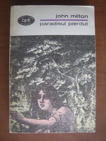 Anticariat: John Milton - Paradisul pierdut