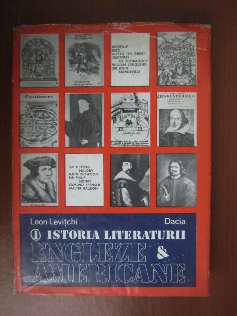 Anticariat: Leon Levitchi - Istoria literaturii engleze si americane (volumul 1)