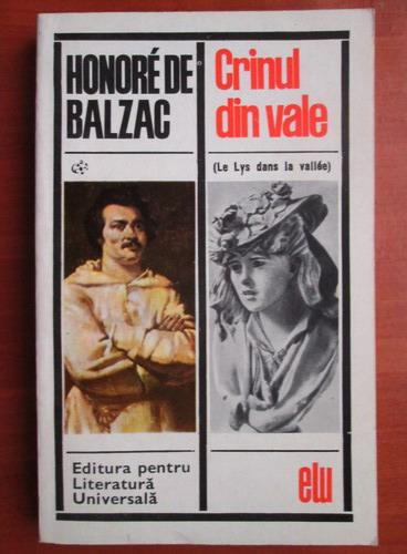 Anticariat: Honore de Balzac - Crinul din vale