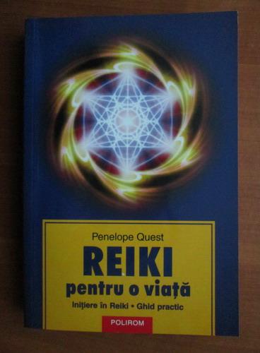 Anticariat: Penelope Quest - Reiki pentru o viata