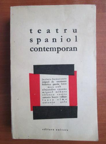 Anticariat: Teatru spaniol contemporan