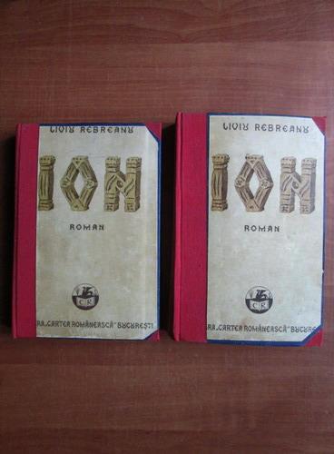 Anticariat: Liviu Rebreanu - Ion (2 volume, 1939)