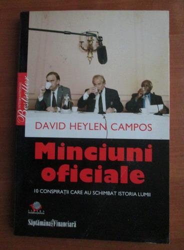 Anticariat: David Heylen Campos - Minciuni oficiale
