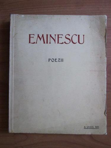 Anticariat: Mihai Eminescu - Poezii (1939)