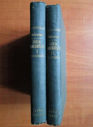 Anticariat: Mihail Sadoveanu - Zodia cancerului (2 volume, 1929)