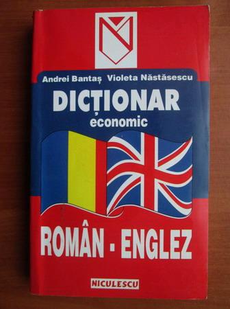 Anticariat: Andrei Bantas - Dictionar economic Roman-Englez