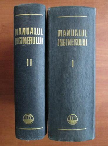Anticariat: Gheorghe Buzdugan - Manualul inginerului (2 volume)