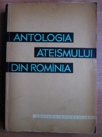 Anticariat: Antologia ateismului din Romania