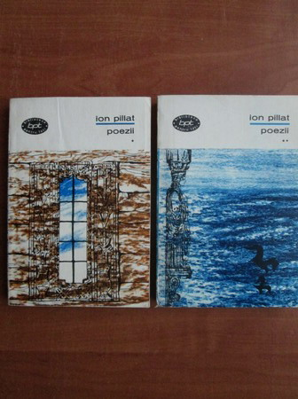 Anticariat: Ion Pillat - Poezii (2 volume)