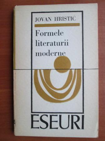 Anticariat: Jovan Hristic - Formele literaturii moderne