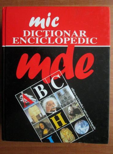 Anticariat: Mic dictionar enciclopedic (2005)