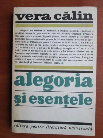Anticariat: Vera Calin - Alegoria si esentele