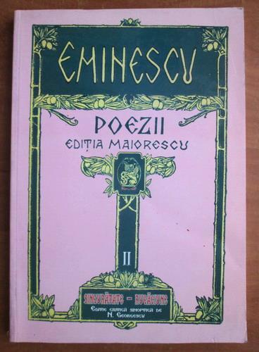 Anticariat: Mihai Eminescu - Poezii 2. Singuratate-Rugaciune