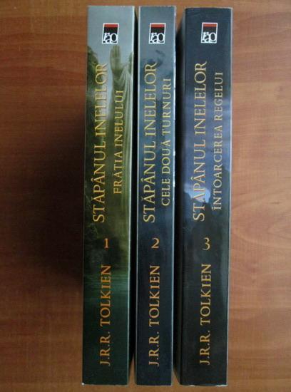 Anticariat: J. R. R. Tolkien - Stapanul inelelor (3 volume)