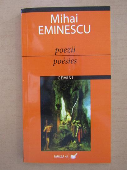 Anticariat: Mihai Eminescu - Poezii / Poesies (editie bilingva romana-franceza)