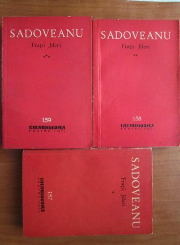Anticariat: Mihail Sadoveanu - Fratii Jderi (3 volume)