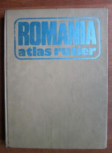 Anticariat: Dragomir Vasile - Romania atlas rutier (1981)