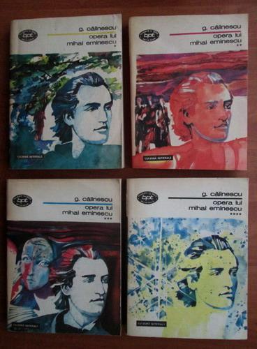 Anticariat: George Calinescu - Opera lui Mihai Eminescu (4 volume)