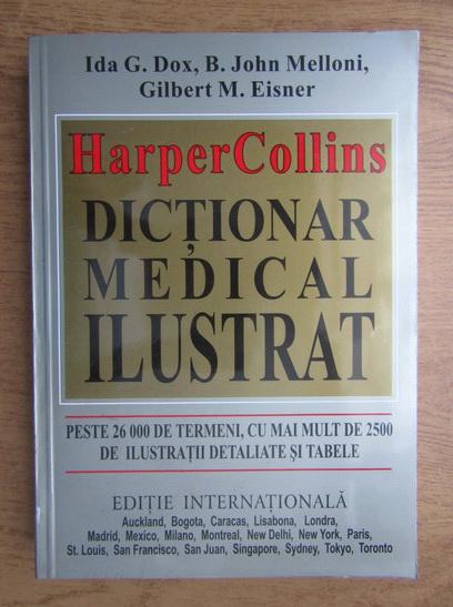 Anticariat: Ida G. Dox - Harper Collins. Dictionar medical ilustrat