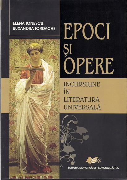 Anticariat: Elena Ionescu - Epoci si opere. Incursiune in literatura universala