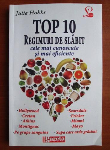 Anticariat: Julia Hobbs - Top 10 regimuri de slabit