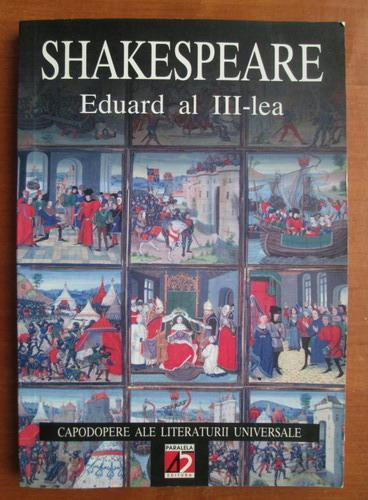Anticariat: Shakespeare - Eduard al III-lea