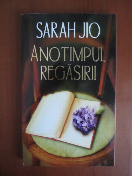 Anticariat: Sarah Jio - Anotimpul regasirii