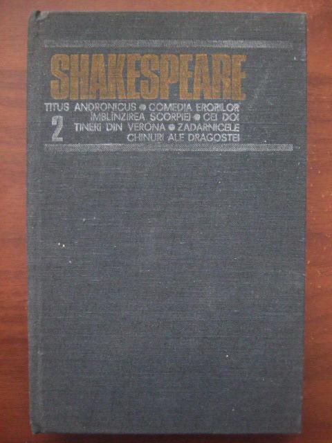 Anticariat: Shakespeare - Opere, Editura Univers (volumul 2)
