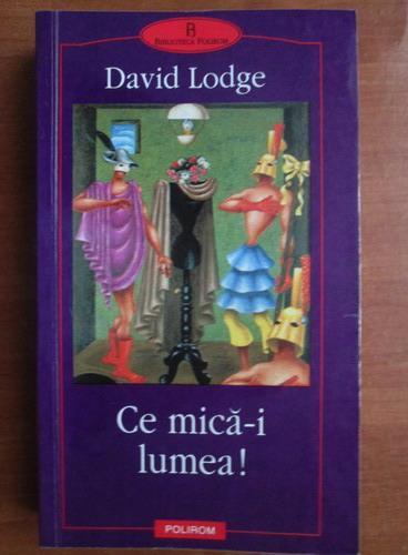 Anticariat: David Lodge - Ce mica-i lumea!