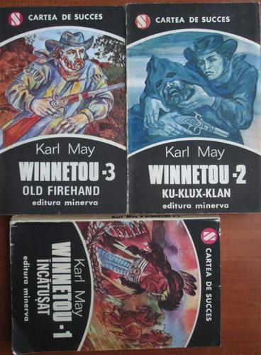 Anticariat: Karl May - Winnetou (volumele 1, 2, 3)