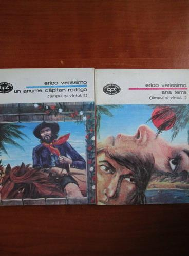 Anticariat: Erico Verissimo - Ana Terra. Timpul si vantul (2 volume)