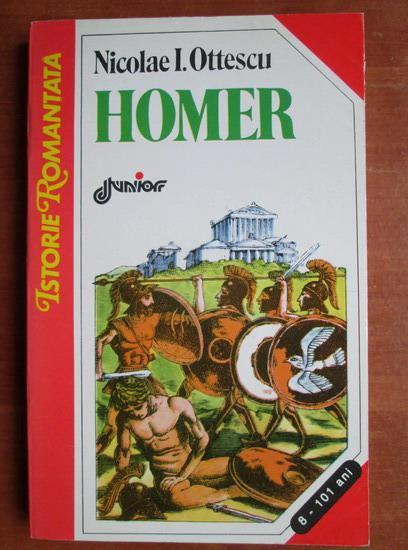 Anticariat: Nicolae I. Ottescu - Homer